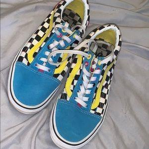 Colorful Vans